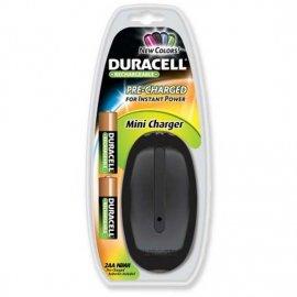 Pilas Duracell Recargables Cargador + 2 Pilas AA
