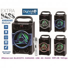 Altavoz Bluetooth Digivolt Md Hifi-36