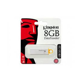 Pen Drive Usb 8gb Kingston Amarillo Usb 3.1 3.0 2.0