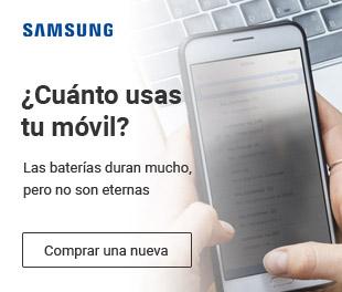 Las baterías más económicas para tu móvil Samsung