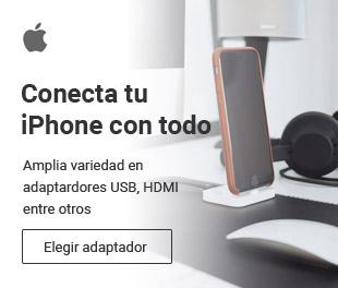 Varios adaptadores económicos para tu iPhone