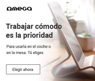 Omega te ofrece soportes económicos para tu tablet