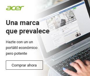 Portátiles Acer económicos y con 2 años de garantía
