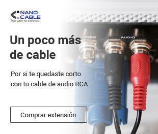 Nano cable te ofrece conectividad de audio a precios bajos