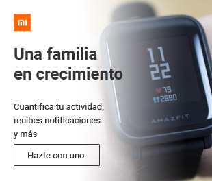 El reloj inteligente de Xiaomi, Amazfit, por poco dinero