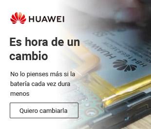 Por poco dinero, hazte con una nueva batería para tu Huawei