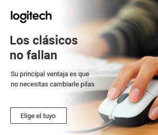 Logitech te ofrece ratones con cable económicos