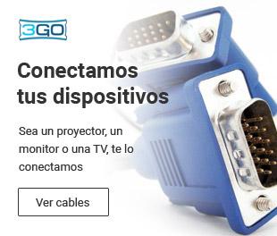 Cables VGA y HDMI económicos de 3GO