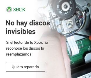 Reparaciones con garantía para tu Xbox