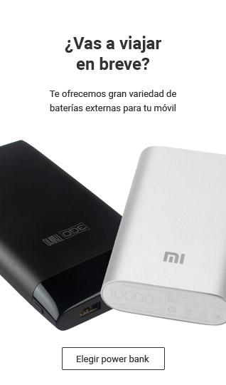 Te ofrecemos baterías externas a precios asequibles