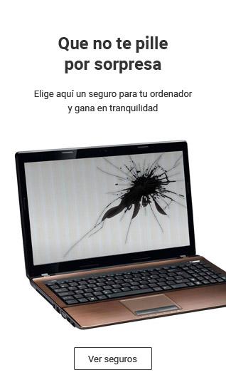 Te ofrecemos seguros económicos para tu ordenador portátil